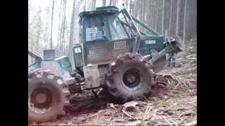 Noe NF 140 - Holzrücken auf Romanian St...