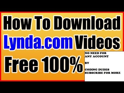Download Lynda Videos Using Chrome No Need For Account