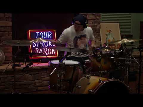 FOUR STROKE BARON - PLANET SILVER SCREEN (DRUM PLAYTHROUGH) Mp3