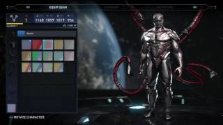 Injustice 2-Gear Showcase (Including Shaders and Premier Skins)