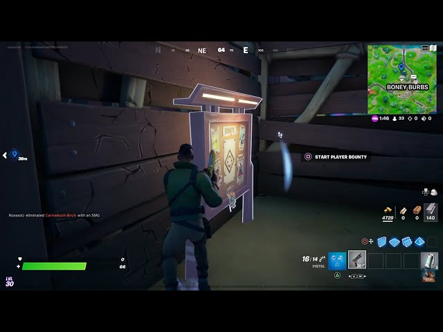 How to Get a Bounty from a Bounty Board for Wrath - Fortnite Season 8 Quest