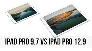 iPad Pro 9.7 vs iPad Pro 12.9: the differences you may have missed