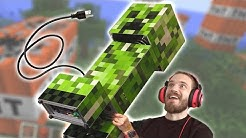 I Got A Giant Creeper Computer in the Mail!