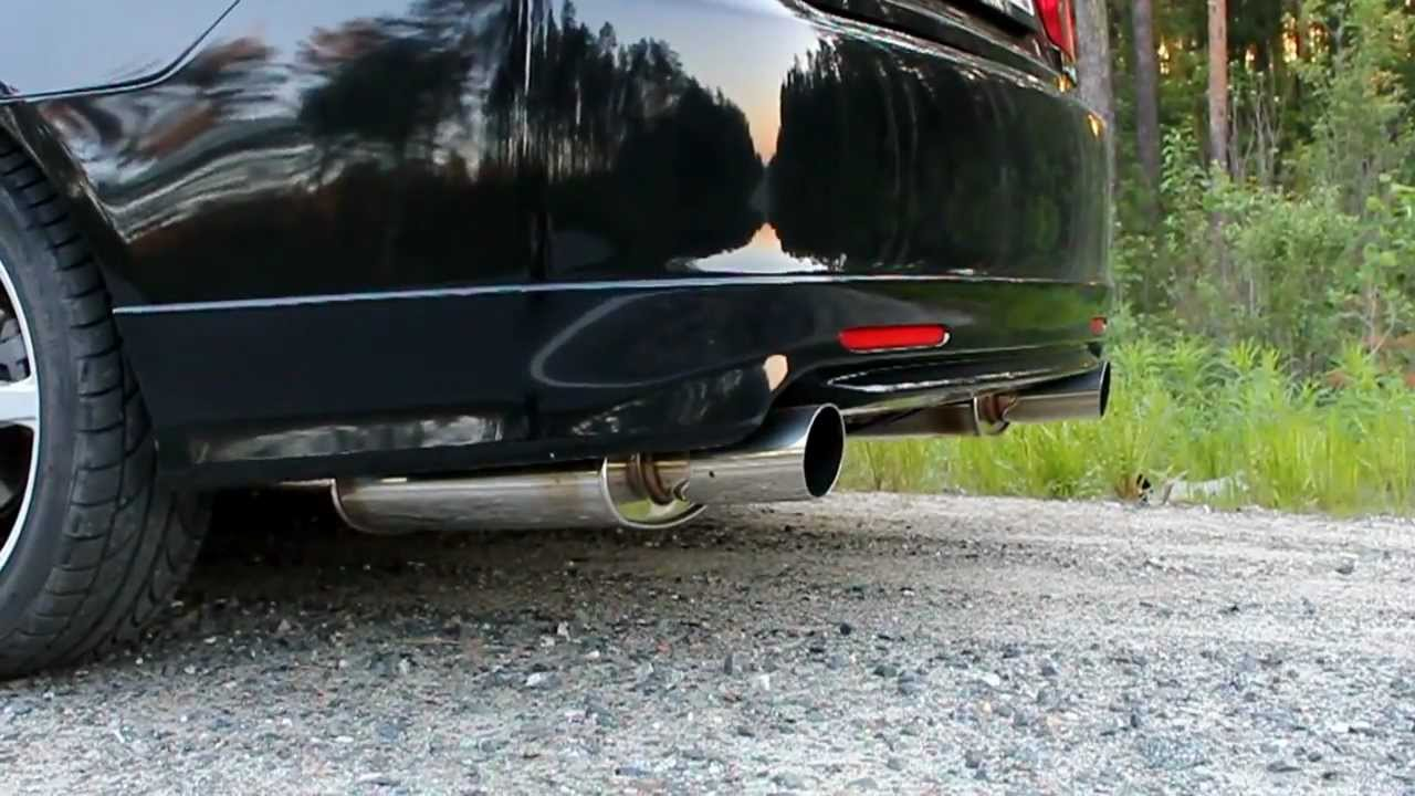Honda Accord Euro R Cl7 Fujitsubo Legalis R Exhaust Youtube