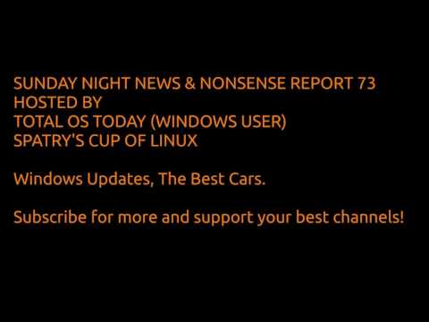 News Nonsense 73 Windows/Linux, Best Cars