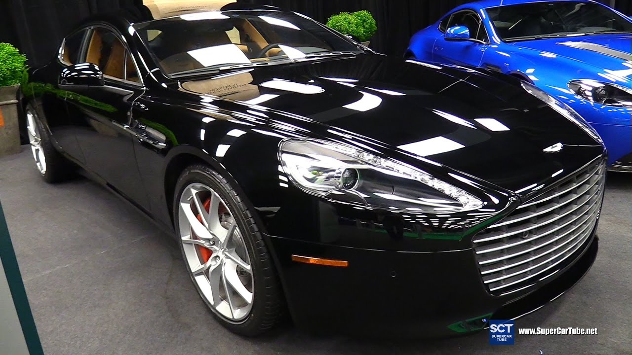 Aston Martin Rapide S Exterior And Interior Walkaround - Aston martin rapid