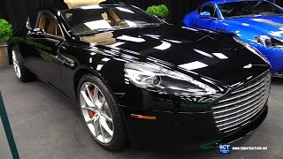 2017 aston martin rapide s - exterior and interior walkaround montreal auto show