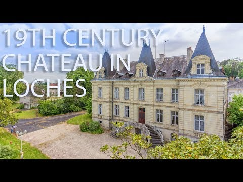 19th Century Chateau for sale In Loches, Indre et Loire, Centre 67905AF37