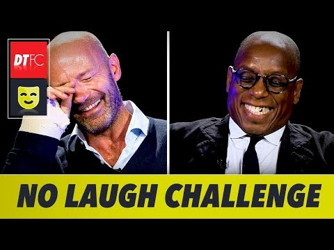 The No Laugh Challenge | With Alan Shearer and Ian Wright