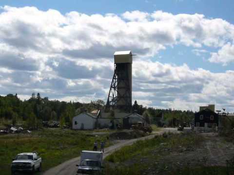 Tamaka Mine Sioux Lookout Blast | Rakowski Cartage & Wrecking
