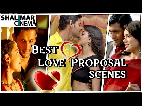 Telugu Movies Best Love Proposal Scenes ||...