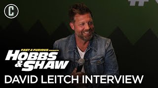 Hobbs & Shaw 1-Hour Q&A with Director David Leitch