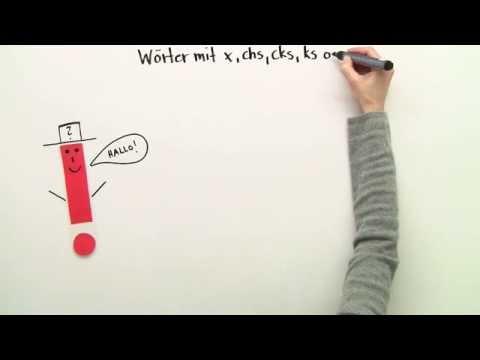 Lehwörter Auf X Chs Cks Ks Gs Deutsch Rechtschreibung Youtube