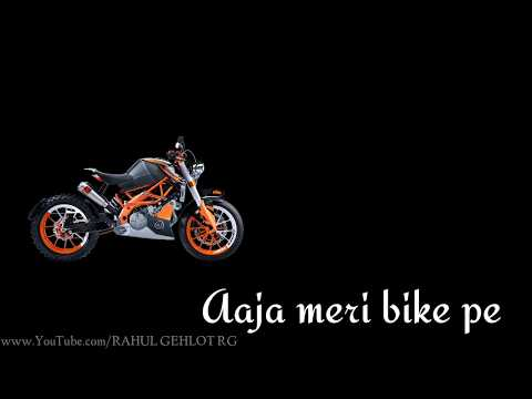 Aaja meri bike pe || whatsapp status lyrics || Tony kakkar || new whatsapp status song