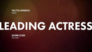 91st Oscar Nominees: Leading Actress