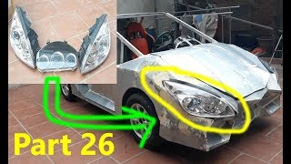 Homemade Lamborghini car part 26