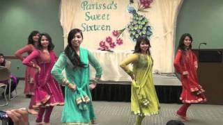 Chamak Challo and Marjaani Dance Medley at Parissa