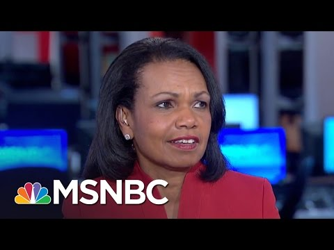 Condoleezza Rice: 'Every President Has A Learning Curve' | Morning Joe | MSNBC