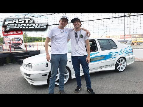 Jesse Is Back! Fast and Furious Jetta Build and Nismo GTR!