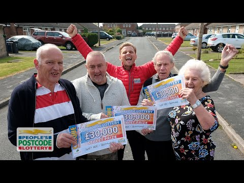 #StreetPrize Winners - WS7 2EY In Burntwood On 21/04/2019 - People's Postcode Lottery