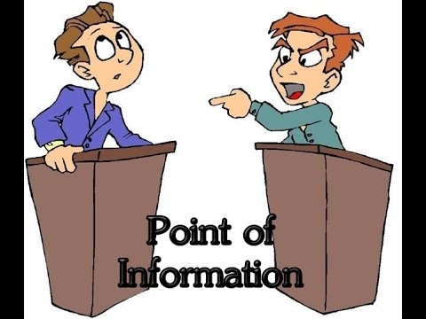 Debate Skill: POI