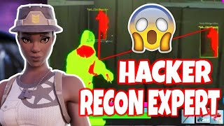☠️RECON EXPERT HACKER met with RENEGADE RAIDER in Random Duos⚠️ Wallhack and Aimbot? Fortnite