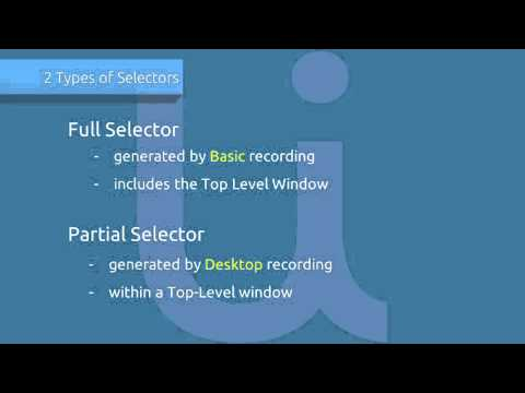 Selectors 2/3 - Complex UI Hierarchies