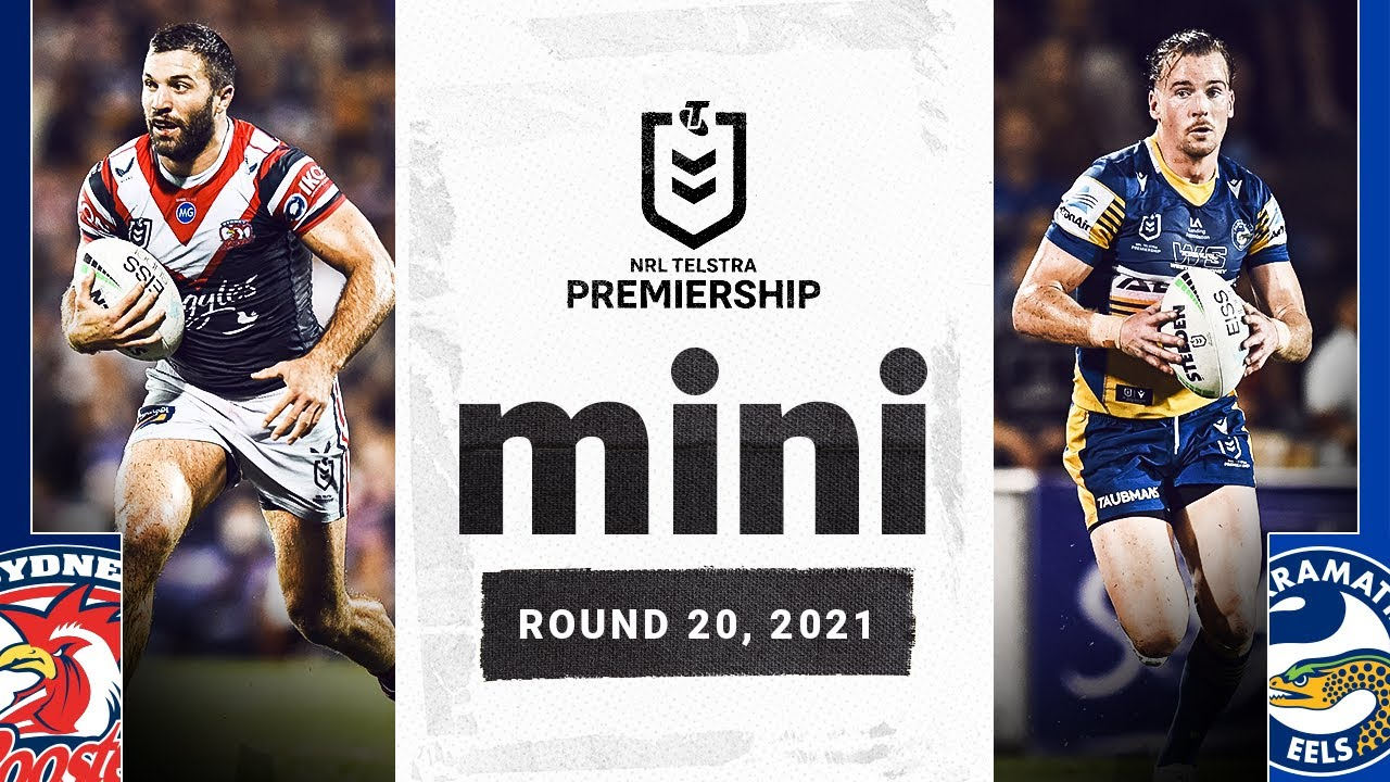 Thursday night lights in the 'Sugar City' | Roosters v Eels Match Mini | Round 20, 2021 | NRL