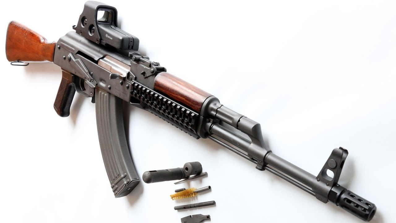 How to lubricate your AKM (AK47) and AK74 rifles.