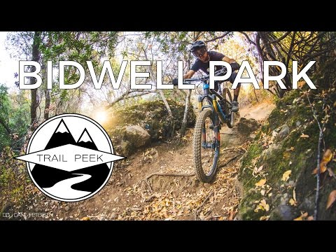 Mountain Biking Chico California at Bidwell Park - Trail Guide
