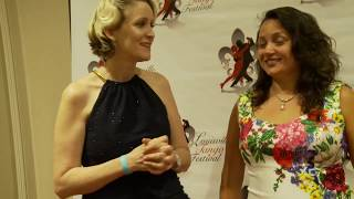 Louisville Tango Festival - red carpet interview