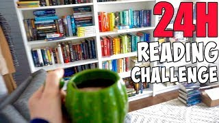 24 Hours Readathon Vlog || Reading Book Challenge 2018