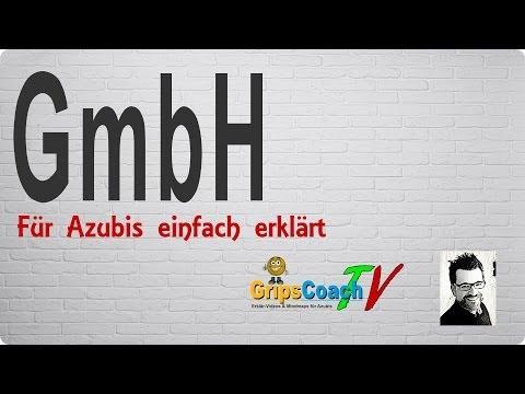 GmbH einfach erklärt - Prüfungswissen für Azubis ★ GripsCoachTV