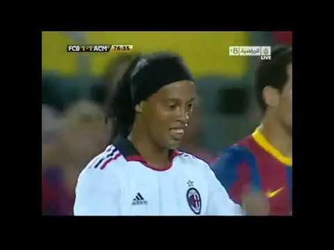 Ronaldinho's Tribute @ Nou Camp: The King did return !!