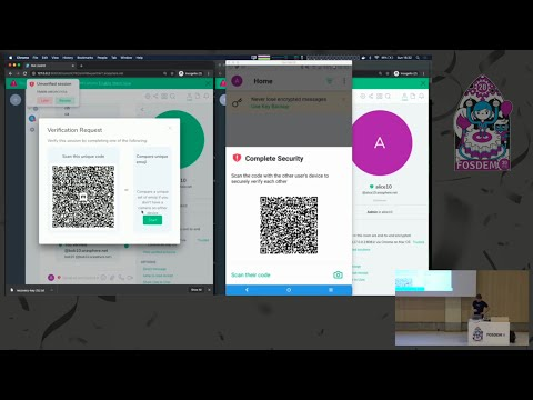 FOSDEM 2020: Making & Breaking Matrix's E2E Encryption