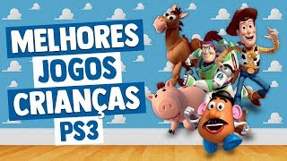 Melhores Jogos Playstation 3 para Crianças
