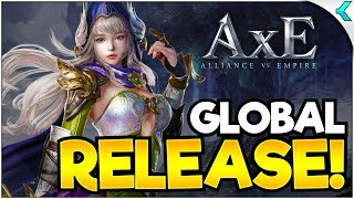 AxE: ALLIANCE X EMPIRE | Global Release | FIRST IMPRESSIONS!!