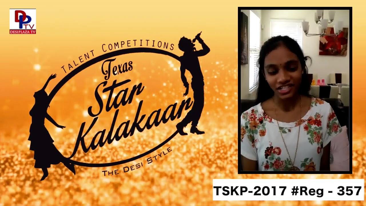 Reg# TSK2017P357- Texas Star Kalakaar 2017