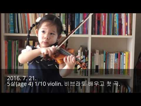 0 -2 Years Violin Progress