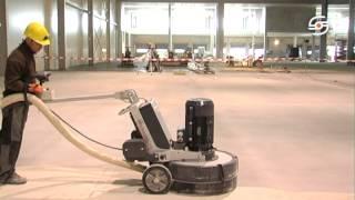 шлифовальная машина по бетону Schwamborn DSM 800