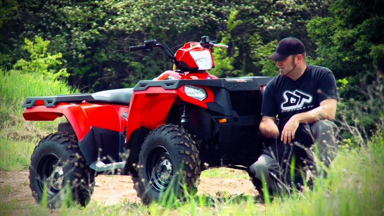 ATV TEST RIDE: 2011 Polaris Sportsman 400