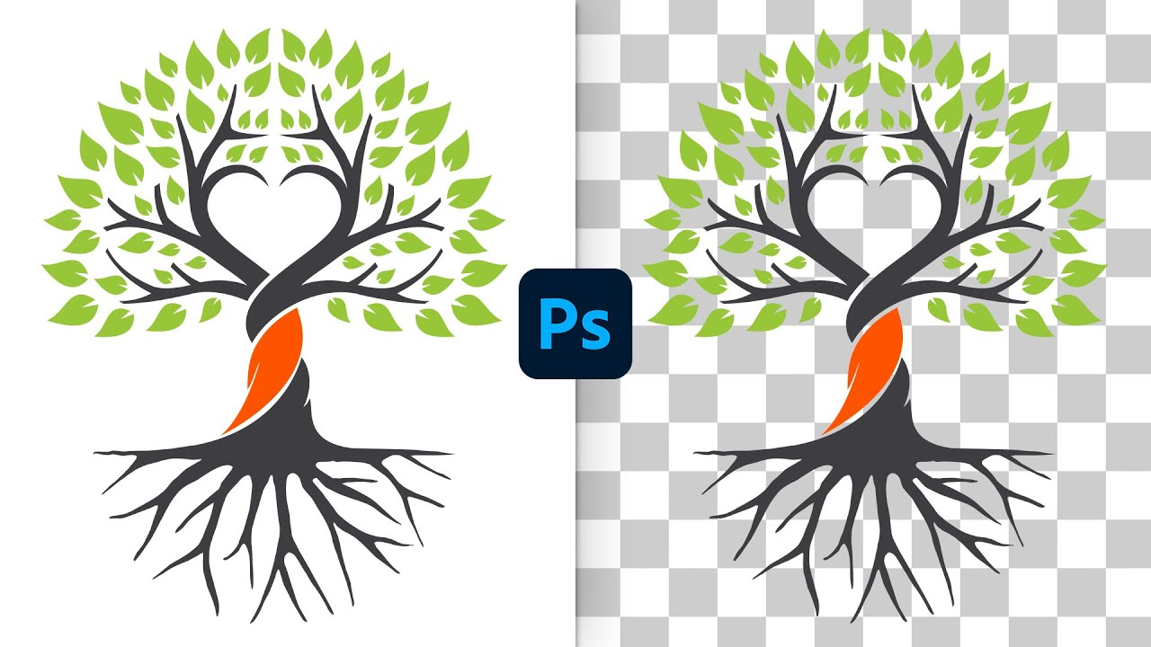 Remove White Background from Logos in Photoshop (Fast & Easy!)