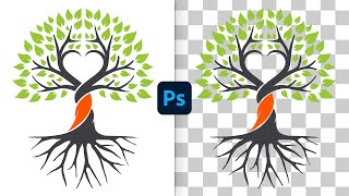 Remove White Background fŗom Logos in Photoshop(Fast & Easy!)