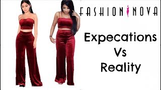 Fashion Nova Try on Haul - Website Vs Reality