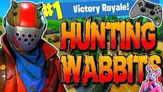 Fortnite Battle Royale Victory Gameplay! Hunting The New Easter Update Rabbit Raider Skin! (PS4)