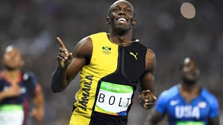 Usain Bolt Wins 100m Gold Medal World Record at Rio Olympics 2016