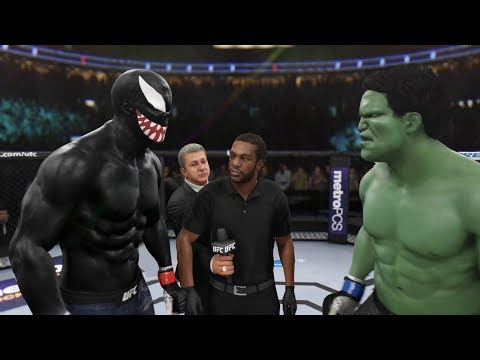 БОЙ VENOM Vs HULK UFC