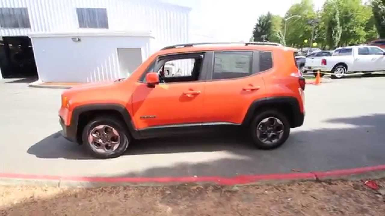 2015 jeep renegade latitude omaha orange fpb69152 redmond seattle youtube. Black Bedroom Furniture Sets. Home Design Ideas