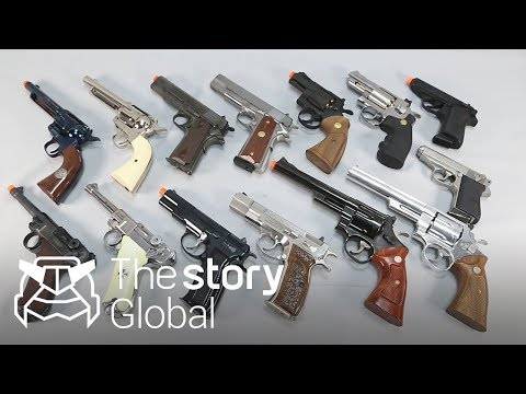 [Part.2] Ultra-rare toy gun! We met only 5 limited edition in the world!