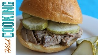 Slow Cooker Pulled Pork Recipe | Hilah Cooking